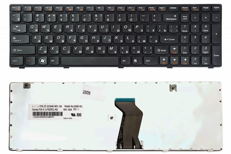 Клавиатура для LENOVO IdeaPad Z580, G580, G585, Z580A, Z585