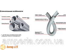 Труба ПВХ жёсткая атмосферостойкая д.40мм, тяжёлая, 3м, цвет серый, фото 3