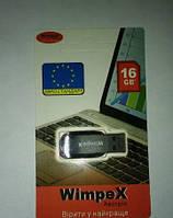 WIMPEX USB 16 GB, Флеш накопитель usb, Флешка, Карта памяти, Накопитель памяти,  Накопитель  usb