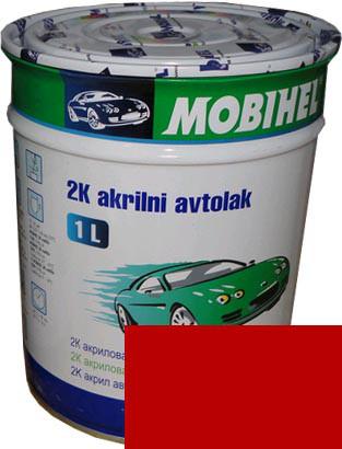 """Автокраска 112 Эмаль акриловая Helios Mobihel """"Гран-При"""" 1л без отвердителя"""