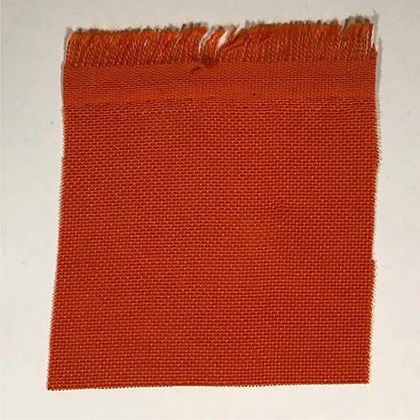 Флажная ткань (оранжевая, 100% полиэстер) - 155 г/м2, фото 2