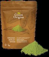 Порошок из ростков ячменя органический 125г, Green Origins