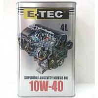 Моторное масло E-TEC ASM 10W40 ( канистра 4 л)