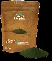 Порошок из хлореллы органический 150г, Green Origins