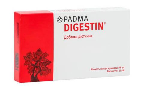 PADMA DIGESTIN (40 капсул) для желудка и пищеварения