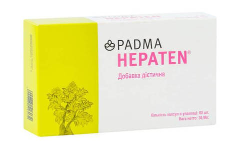 PADMA HEPATEN (60 капсул) для печени
