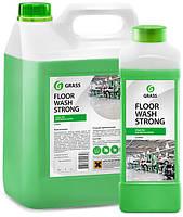 Клининговое профессиональное средство для мытья пола Floor Wash Strong (щелочное) 10 кг Grass
