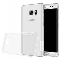 TPU чехол Nillkin Nature для Samsung N935 Galaxy Note Fan Edition бесцветный