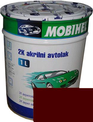 """Автокраска 140 Эмаль акриловая Helios Mobihel """"Яшма"""" 1л без отвердителя"""