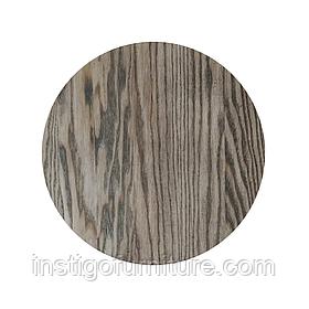 Столешница круглая дерево Ясень 550×20 мм