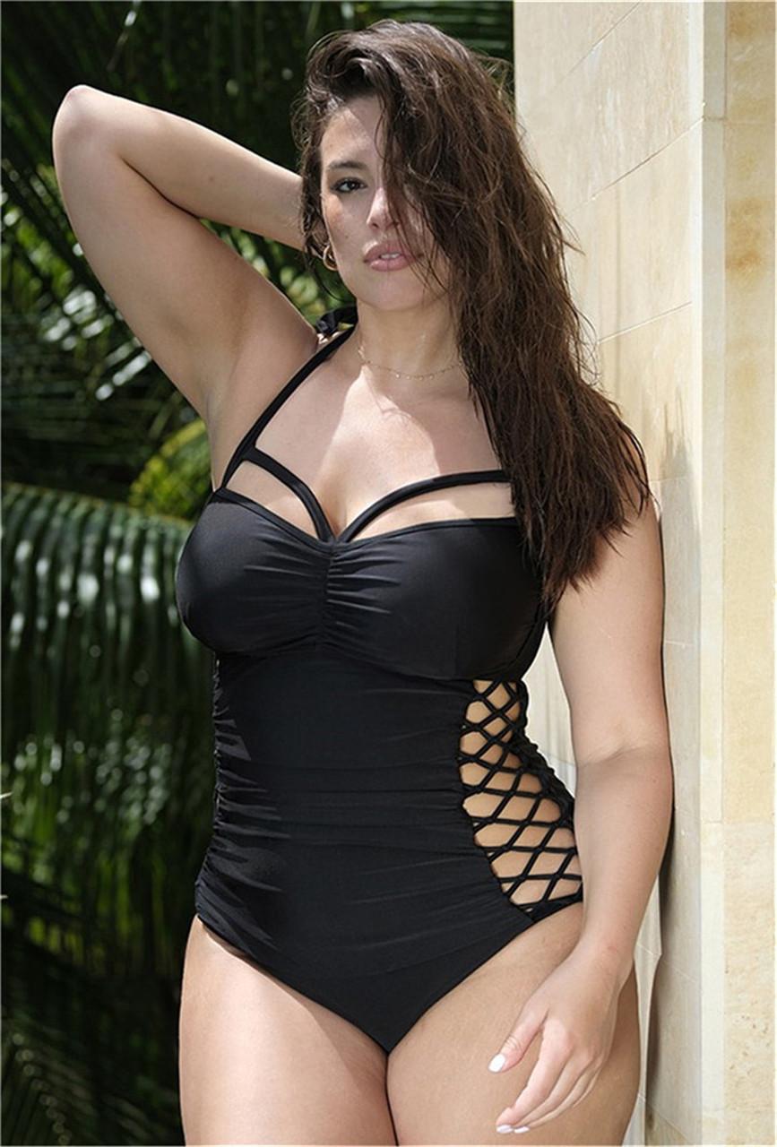 Женский  купальник больших размеров