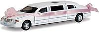 Машинка металлическая Свадебный Лимузин KT7001WW