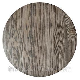 Столешница круглая дерево Ясень 800×20 мм
