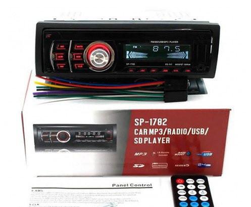 Автомагнитола SP-1782  USB, AUX, SD