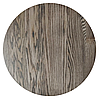 Столешница круглая дерево Ясень 800×38 мм