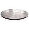 Столешница круглая дерево Ясень 800×38 мм, фото 3