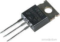Транзистор полевой IRF610 3.3A 200V N-Channel MOSFET TO-220 (used)