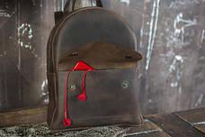 Міський рюкзак із натуральної шкіри