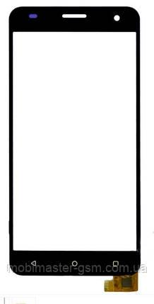 Сенсор для телефона Nomi i504 черный, фото 2