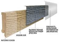 Плинтус деревянный шпонированный Barlinek