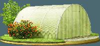 Готовая теплица с поликарбонатом из квадратной трубы 20*20мм  (3*4*2м)