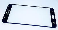 Стекло дисплея (экрана) для Samsung Galaxy J7 J700 | J700F | J700H | J700M | J7008 (черный цвет), фото 1