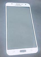 Стекло дисплея (экрана) для Samsung Galaxy J7 J700 | J700F | J700H | J700M | J7008 (белый цвет)