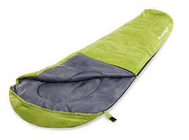 Спальный мешок - мумия Acamper 250 гм2 зелено-серый