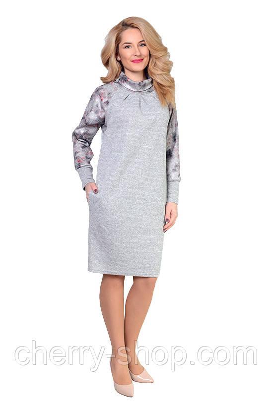 Трикотажне жіноче плаття в розмірі 48,50,52,54
