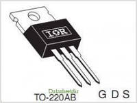 Транзистор полевой IRF1310N 100V 42A N-Channel MOSFET TO-220AB