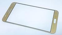 Стекло дисплея (экрана) для Samsung Galaxy J7 J700   J700F   J700H   J700M   J7008 (золотой цвет)