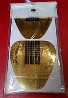 Форма для наращивания ногтей , золотые 12 шт.