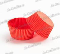 Пергаментные формы для кексов красные 140 (Ø55, бортик – 42,5 мм), 1000 шт.
