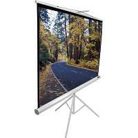 Проекционный экран ELIT SCREENS T71NWS1 7кг, 1 нa 1, 71, 127 x 127, переносний на тренозі, короб белый