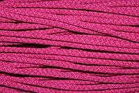 Шнур акрил 6мм.(100м) т.розовый (вск1)