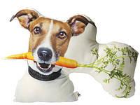 Подушка Пес Майло с морковкой