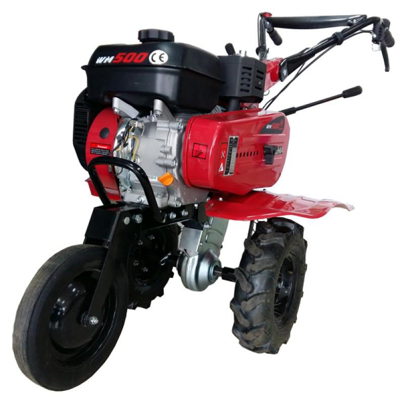Мотоблок бензиновый WEIMA WM500 NEW (7 л.с., 2+1 скор., 4.00-8)