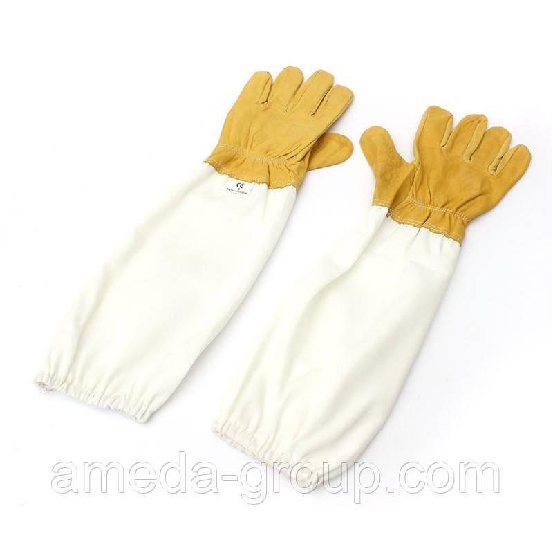 Перчатки пасечные кожаные
