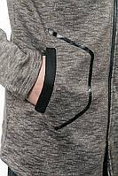 Батник мужской с капюшоном 630K013 (Фисташковый)
