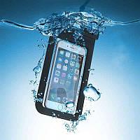 """Универсальный водонепроницаемый чехол с ремешком на руку для телефонов до 6.5"""", фото 1"""