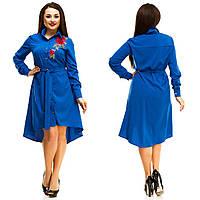 Платье рубашка в расцветках 24251, фото 1