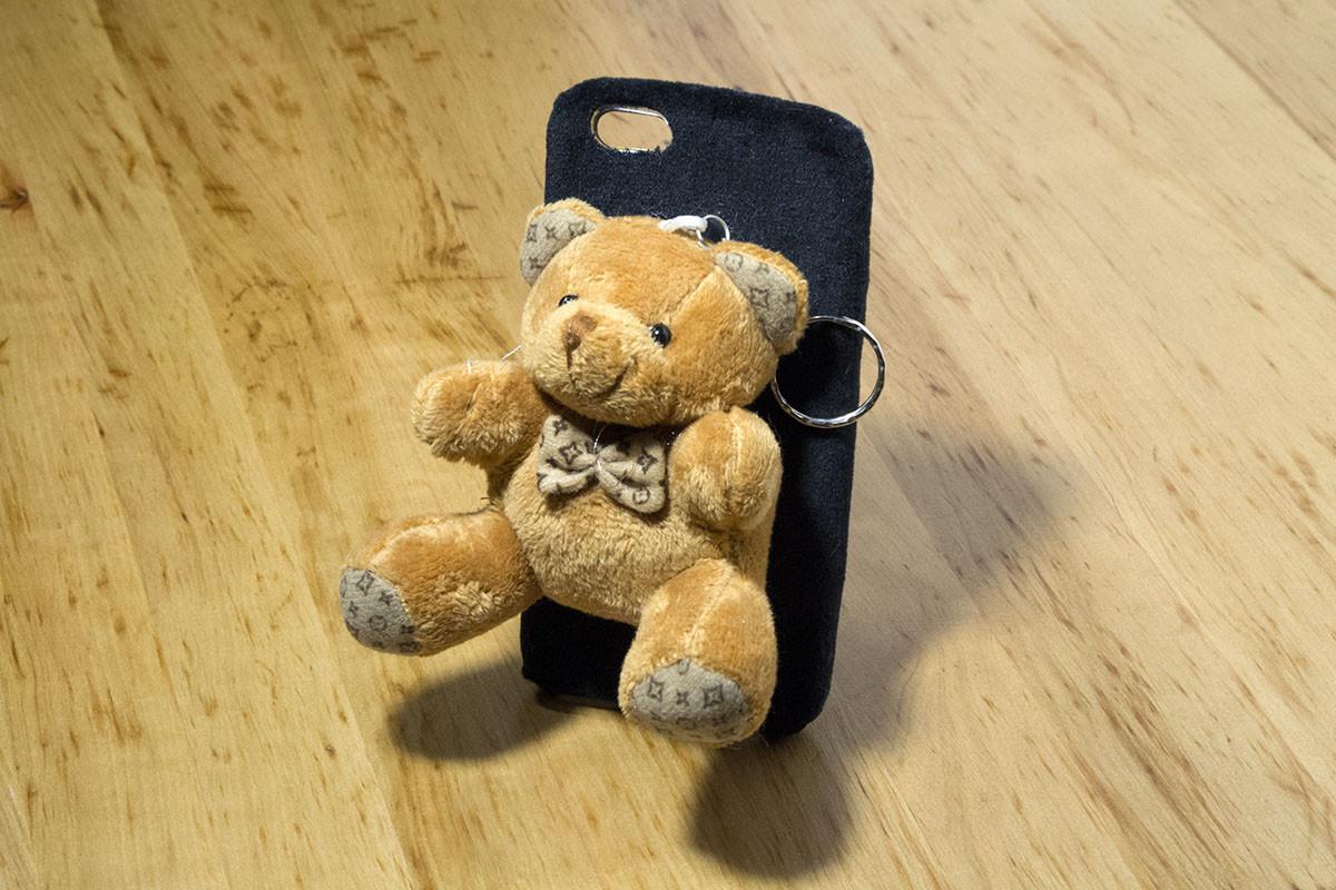 Чехол для iPhone 6 / 6S (4.7 Дюйма) Мягкая игрушка (Медведь) Тип 03