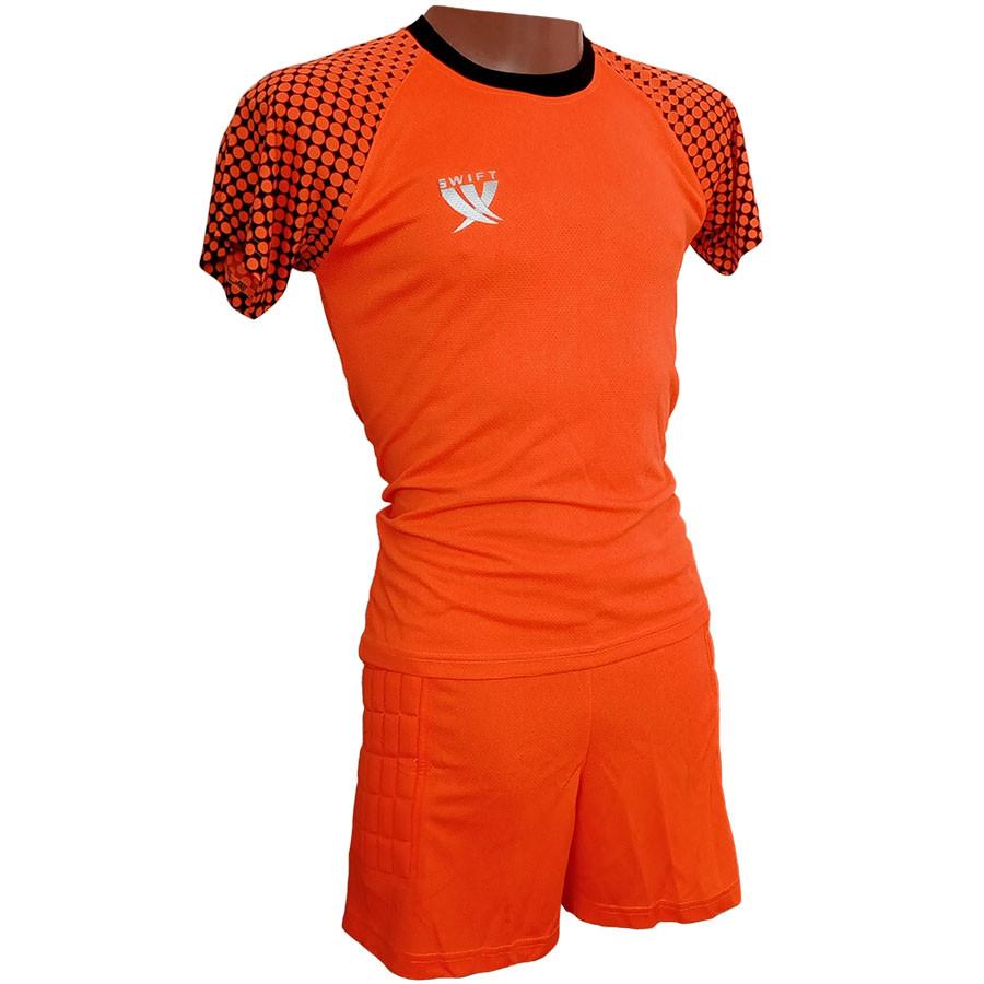 Вратарская форма (футболка - шорты) Swift Mal (неоново оранжевый)