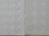 Эпоксидная наклейка круглая 2 см