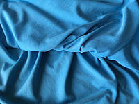 Трикотаж вискоза голубой