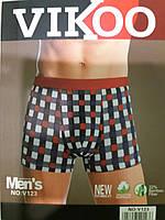 Трусы боксеры, хлопок+бамбук, размер L, Vikoo