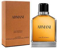 Мужская туалетная вода armani eau d'aromes 100 ml