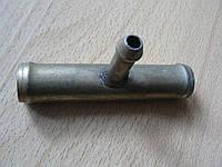 Соединитель Тройник 16х8х16мм шлангов металлический гладкий автомобильный для на авто, фото 1