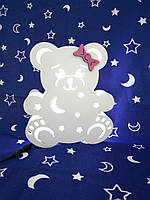 """Детский ночник """"Медвежонок Ханни"""", свет белый"""