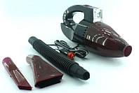 Автомобильный пылесос с фонарем Vacuum Cleaner H0164
